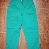 Штаны брюки зеленые