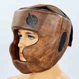 Шлем боксерский с полной защитой кожаный Hayabusa Kanpeki 5781 размер М-Xl