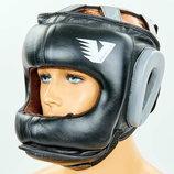 Шлем боксерский с бампером кожаный Velo 6636 размер М-Xl