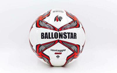 Мяч футбольный 5 Ballonstar 5414 PU, сшит вручную