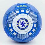 Мяч футбольный 5 гриппи Chelsea 0047-780 PVC, сшит вручную