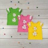 Летняя блуза футболочка на девочку футболка летняя для девочки
