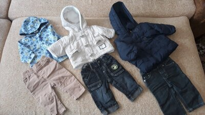 Пакет фирменной одежды на 3-6мес