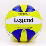 Мяч волейбольный Legend 2010 размер 5, сшит вручную