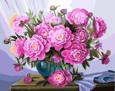 Картина по номерам BRUSHME БУКЕТ пЫШНЫХ лЕТНИХ сЮЖЕТОВ . Цветы. Квіти.