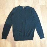 Джемпер пуловер тонкий H&M S на наш 44р 50% шерсти мериноса