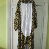 Кигуруми кошка тигровая леопард пижама гепард рост до 172 см