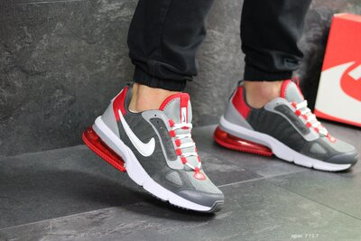 Кроссовки мужские Nike Air gray/red