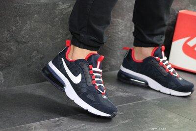 Кроссовки мужские Nike Air dark blue/red