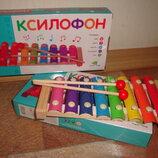Деревянный ксилофон игрушки для малышей