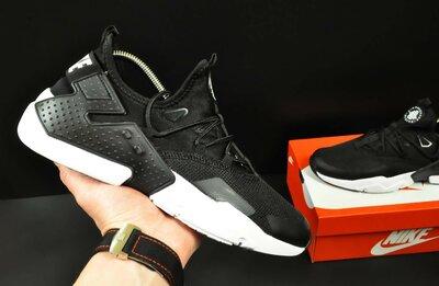 Кроссовки мужские Nike Huarache black/white