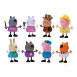 Peppa Pig Набор фигурок Свинка Пеппа 8 шт Профессия 96279 What I Want to Be 8-Figure Pack