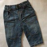3-6 мес новые джинсы унисекс май-сентябрь