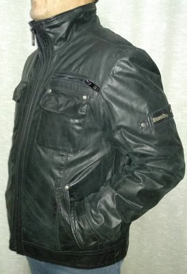 905ba05d Мужская Bench Кожаная курточка: 500 грн - мужская демисезонная ...