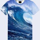 Мужская футболка 3D Wave Большой выбор