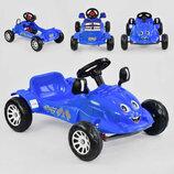 Машина педальная HERBY 07-302,синяя