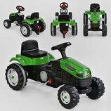 Трактор педальный 07-314 , зеленый