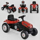 Трактор педальный 07-314 , красный