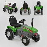 Трактор с педалями большой 07-294 зелёный