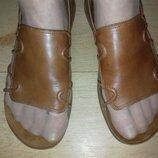 Босоножки кожаные Clarks Springers 25 см