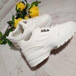 Крутые и стильные кроссовки в стиле Fila