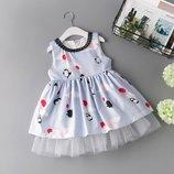 Новиночки Детское нарядное платье.Размеры 90- 130