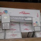 Продам оптом сигареты Ashima красные, синие .Опт от 5 ящ-240 ,от 10 ящ-договорная