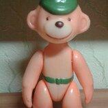 Кукла игрушка Ссср редкая обезьяна полиэтилен цена