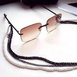 Эксклюзивная коллекция -Chanel CH 4110 - тройная цепь жемчуг- original