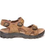 Босоножки сандалии подростковые кожаные nwl19117 l.brown