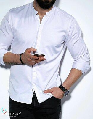 Рубашка мужская длинный рукав Турция 01-53-401