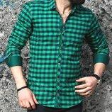 Рубашка мужская длинный рукав Турция 15-25-002