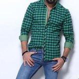 Рубашка мужская длинный рукав Турция 15-31-002