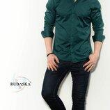 Рубашка мужская длинный рукав Турция 17-61-438