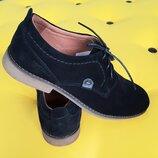 Шикарные мужские туфли из натуральной замши