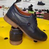 Замечательные мужские туфли из натуральной кожи