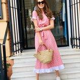 Нежное легкое платье 42 - 46, 48 - 50