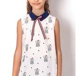 Блуза для девочки 2491 Тм Mevis Размеры 122- 146