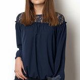 Блуза с длинным рукавом на девочку Тм MEVIS 2375 Размеры 146- 170