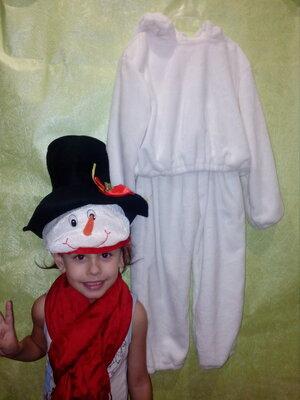 Замечательный костюм Снеговичка .