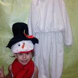 Прокат. Замечательный костюм Снеговика .
