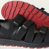 Nike жесть Мужские кожаные сандалии на липучках в стиле Найк
