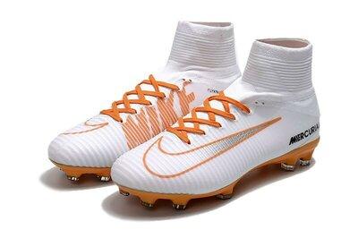 Футбольные бутсы Nike Mercurial Superfly V FG White/Chocolat Арт. 2189