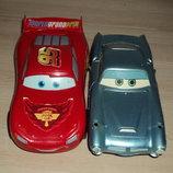 Машинки Тачки Маквин и Док Хадсон в подарок