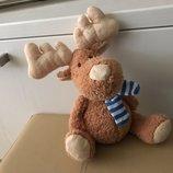 25 см новая мягкая игрушка олень позитивчик