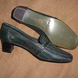 Туфли женские кожа sesto meucci сша р.37,5 - 38 см.