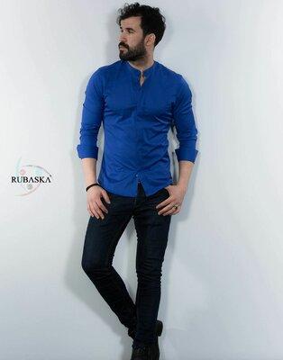 Рубашка мужская длинный рукав Турция 27-61-418