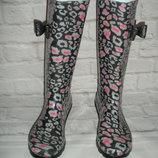 Новые симпатичные резиновые сапожки George Англия , размер 36.