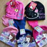 Детская шапка Китти принцесса София набор Дисней