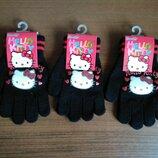 Перчатки Китти Дисней черные